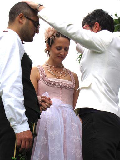 Hochzeitssegen, Trau-Segen, Brautpaar segnen