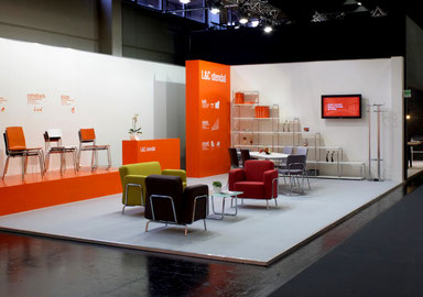 Thumbnail-Link for project: design of exhibition stand - orgatec 2014