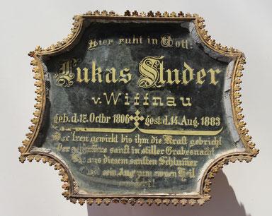 Lukas Studer, 17. Octbr. 1806 – 14. Aug. 1883