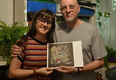 Maite Millet Maritano y Marcelo Coronel.