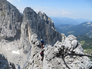 Alpinklettern, Sportklettern oder Bouldern