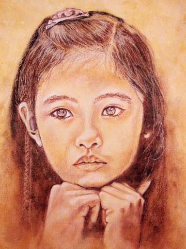 Mädchen aus Asien