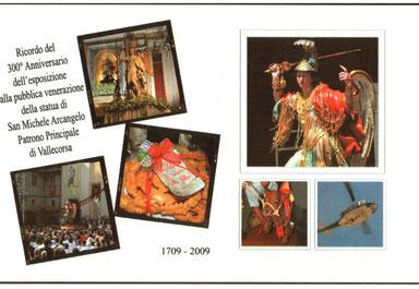 in occasione del 300° anniversario dell'Esposizione alla Pubblica Venerazione della Statua di San Michele