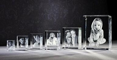 3D-Fotos im Glas von 3DyourBody