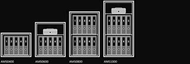 Einrichtungsvarianten der Wertheim Modelle AMS, presented by Egger Tresore Safes