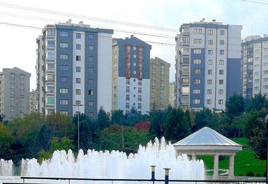 Hochhäuser in Istanbul