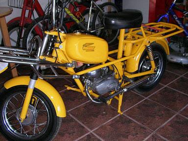 """Ducati Mini 2 con equipo """"Carguero"""""""