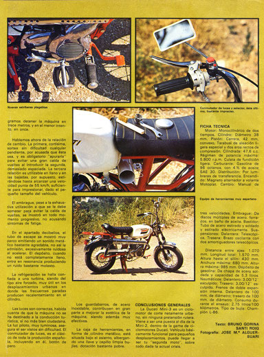 Prueba a fondo Ducati Mini 3
