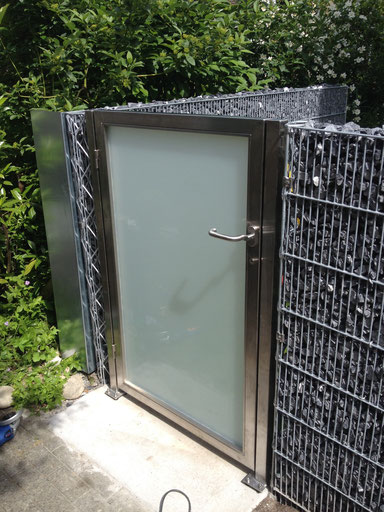 Garten Tür aus CNS
