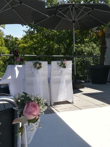 Hochzeit im Bootshaus in Mannheim
