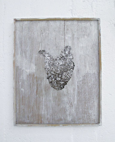 Drawing -a heart- / h320×w240×d15mm