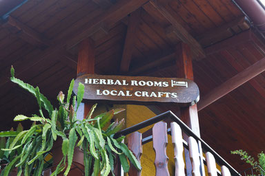 Herbal House Plave, Slovenia - Welcome sign