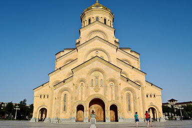 How to Spend Time in Tbilisi - Tsminda Sameba Cathedral