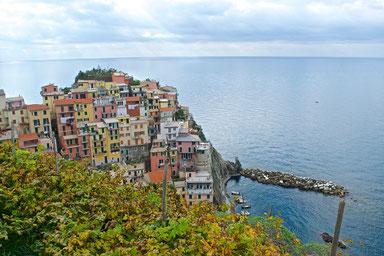 Hike the Cinque Terre - Manarola, Italy