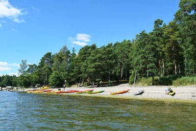 One of Our Short Breaks in Finland - Swimming Time