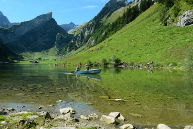The most beautiful lakes in Switzerland - Seealpsee