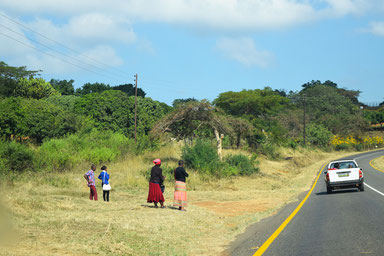 A scenic drive through Swaziland