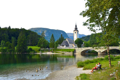 9 Places to see in Slovenia - Lake Bohinj