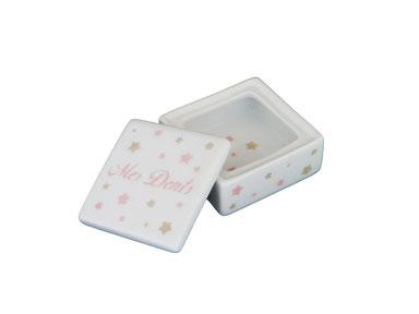 Boîte à dent de lait Nara Porcelaine