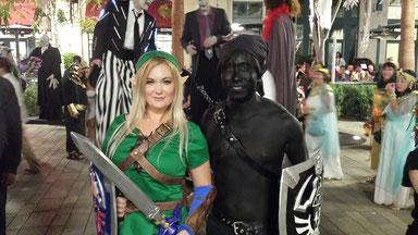 Halloween 2015 in Las Vegas. Gotta love Link costumes!