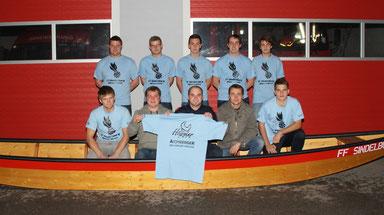 T-Shirt Übergabe Wasserdienst Sindelburg