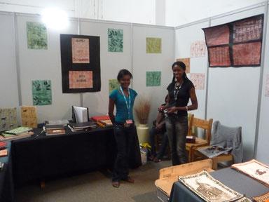 Stand der Buchbinderei auf dem Showground