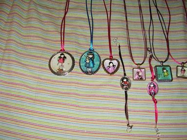Pulseras y medallas artesanales gorjuss