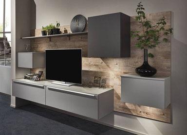 cuisine intérieur design toulouse living bois et blanc et gris mat laque moderne tendance contemporaine chic