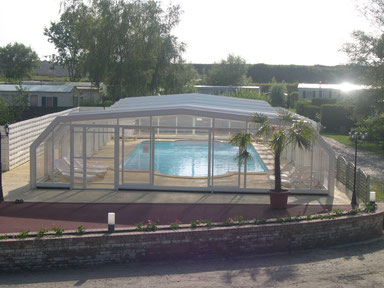 camping with indoor swimming pool France picardie