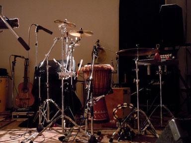 2012.4.27[Pikaia Pandeiro Special×Sonido del Viento Live]Percussion Set