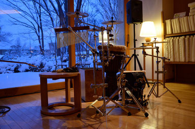 2013.1.3 Sonido del Viento LIVE Percussion set