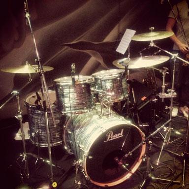 2013.5.20 なかの綾LIVE Drum set