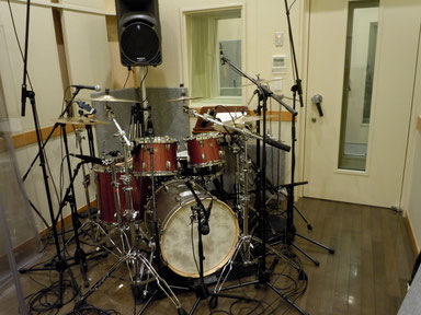 2012.4.23 幹REC Drum Set