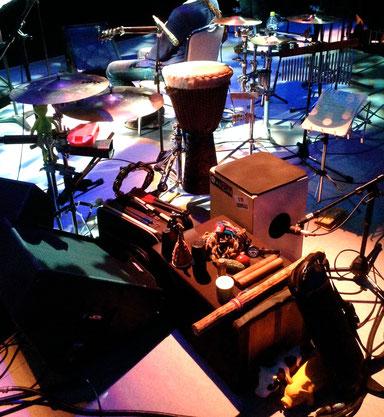 2014.7.12 谷本賢一郎コンサート Percussion set