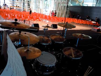 2012.6.2 あんべ光俊Live Drum set