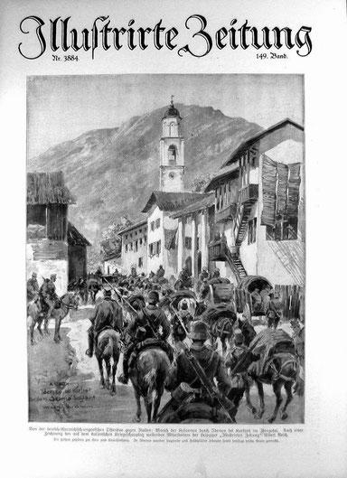 Im 1. Weltkrieg ging Kobarid (Karfreit) in die Weltgeschichte ein (Das Wunder von Karfreit)