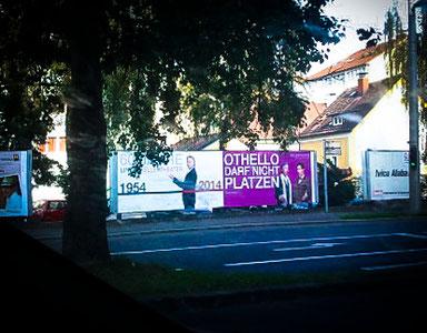 OTHELLO DARF NICHT PLATZEN im Linzer Kellertheater 2014-15