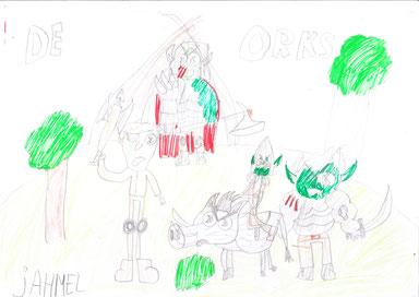 De Orks door Jahmel Carlier