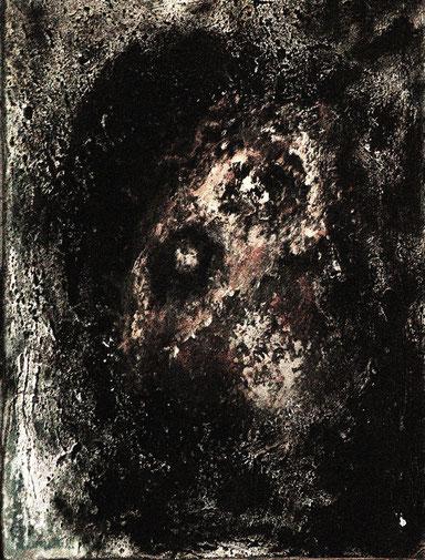El Commandante, Acryl auf Hartfaser, 50x40, 2013