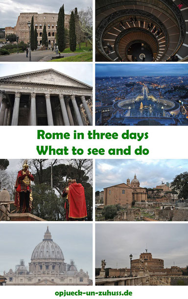 Rome in three days - What to see and do