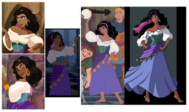 Esmeralda Hunchback Of Notre Dame Ilionejs Official Cosplay Page