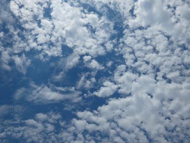 雲がイイ感じ