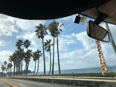 北上からの帰りのこの景色Hawaiiっぽくてスキです。