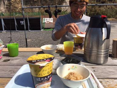 頂き物の韓国ラーメン!優しい味でした♪ ありがとう♥