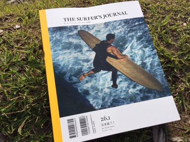 SURFER'S JOURNAL 表紙のビジュアル変わりました!