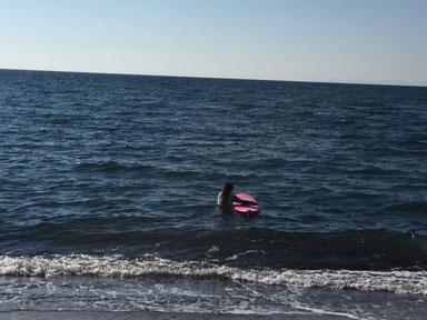 波は無かったですが自主練 コツコツが大事です。