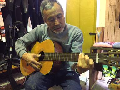 ギター侍(笑)