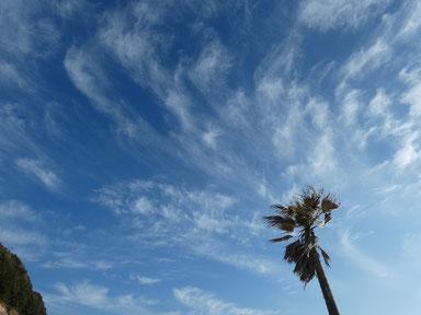 空と雲イイ感じ~