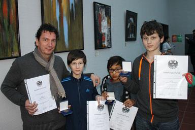 Auszeichnungen und Ehrungen der Stadt Köln für unsere erfolgreichen Sportler und Trainer.