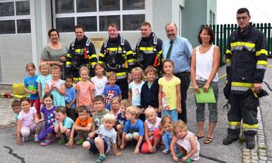 Räumungsübung Kindergarten Georgsberg 01.06.2017